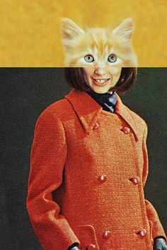 """""""Cature, Part II"""" by Eugenia Loli. Part I can be... - Eugenia's Collages"""