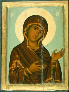Mother Of Christ, Blessed Mother, Byzantine Art, Byzantine Icons, Medieval Art, Renaissance Art, Religious Icons, Religious Art, Paint Icon