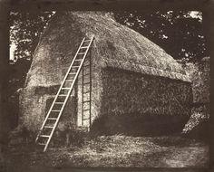 William Fox Talbot (1800-1877), La meule de foin (The Haystack) Avril 1844. Epreuve sur papier salé d'après un négatif papier. 16,2 x 21cm. National Media Museum, Bradford, UK © The RPS Collection at the National Media Museum, Bradford.