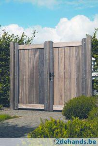 Padoek poort residence; klassevolle tuinpoort | 2dehands.be