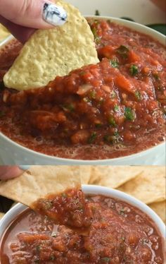 This is the BEST Easy Salsa Recipe – it's done in 5 minutes! Looking for a quick salsa for Taco Tuesday? This is the recipe you need. Perfect for Taco Tuesday this easy salsa recipe can be made hot or mild and is done in 5 minutes! Snacks Für Party, Easy Snacks, Easy Meals, Mexican Salsa Recipes, Mexican Sauce Recipe, Salsa Canning Recipes, Mexican Snacks, Canning Salsa, Hot Sauce Recipes