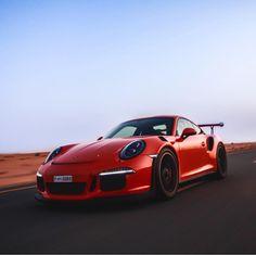 Porsche 991 GT3 RS painted in Lava Orange   Photo taken by: @n.rd on Instagram