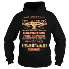 RESTAURANT MANAGER T Shirts, Hoodie. Shopping Online Now ==►…