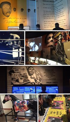 O Empenho Notícias & Afins: Museu de Ali em Louisville vira ponto de peregrina...