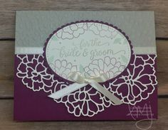 I started this blog for a place I can CREATE, SHARE and INSPIRE other crafters. I am an Independent Stampin' Up! demonstrator and exclusively use their products. I just LOVE how everything from the stamp set, punch, card stock, designer series paper, ribbon and accessories all coordinate! Stampin' Up! just gets me!