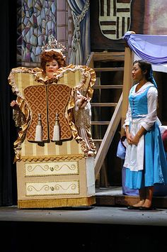 Beauty and the Beast - Tri-School - I like the corset on the Belle costume