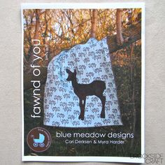Fawnd of You Baby Quilt Pattern. $10.00, via Etsy.