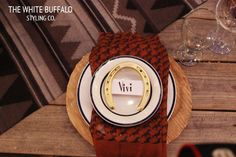 horse-shoe-placecards the white buffalo styling co