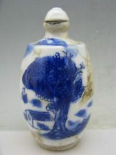 Wonderful China Ge Kiln porcelain hand painted Snuff Bottles**Free Shipping**