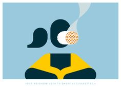 """our neighbor used to smoke 60 cigarettes."" #pictograms #icon #graphicdesign #vector #vectorgraphics #illustration"