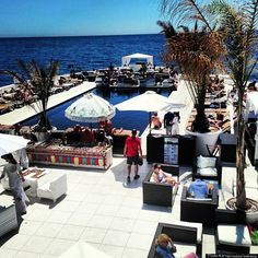 Best Beach Bars: Purobeach, Tivat, Montenegro Right in the heart of the spectacular Bay of Kotor in the Adriatic Sea, Purobeach Porto Montenegro is a truly luxurious setting for you to unwind and soak up the sun.