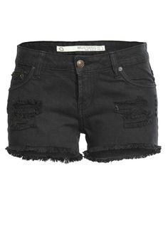 Black Mustang Shorts