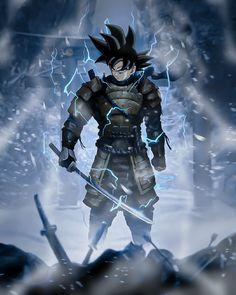D D Races, Samurai Anime, Son Goku, Super Saiyan, Anime Comics, Digimon, Dbz, Dragon Ball Z, Fan Art