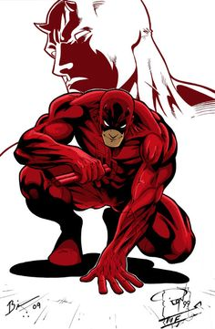 Matt Murdock    DareDevil by ~Knightreaver on deviantART    One of the best DareDevil drawings I've ever seen..