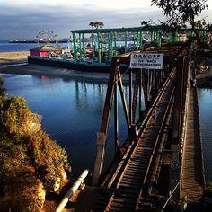Lost Boys Bridge in Santa Cruz, CA