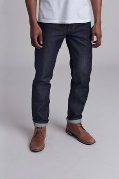 Goodale Tailored Slim Selvedge Denim