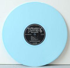 Entombed – Left Hand Path loss blue vinyl FDR repress on Earache Records