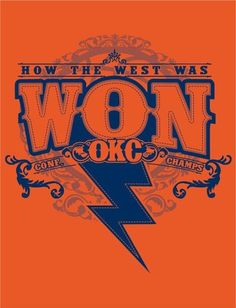 Western Conference Champs!! 2012