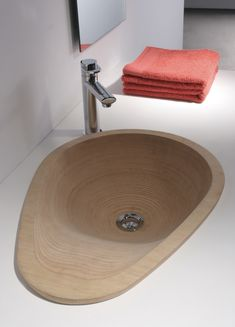 Javier Herrero Studio_Lavabou_1 My Design, Sink, Projects, Home Decor, Plywood, Bathroom Sinks, Interiors, Sink Tops, Log Projects