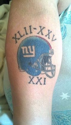 new york giants tattoos images - Google Search