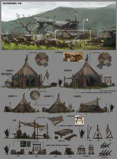 ::orcish camp::   ArtStation - Professional work / 2013, Byung Cheol (FEBUD)