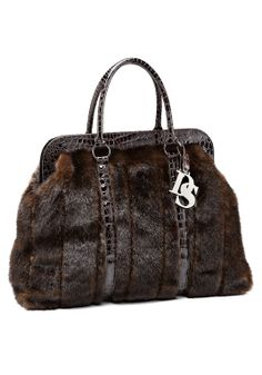 Sable Faux Fur Weekend Bag