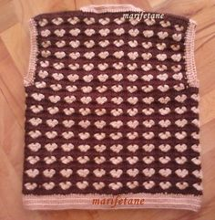 crochet, baby vest, bebek yeleği, yelek http://www.marifetane.com/2015/04/acklamal-tg-isi-bebek-yelegi-resimli.html
