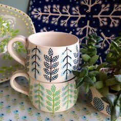 Multiple photos of ceramics  by Katrin Moye