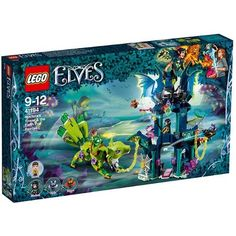 Buy LEGO Elves Noctura Tower Earth Fox Rescue - 41194 at Argos. Thousands of products for same day delivery or fast store collection. Kids Toys For Boys, Lego Girls, Lego Elves Sets, Lego Sets, Fire Lion, Knight Logo, Wolf Face, Friend Logo, Lego Builder
