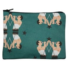 Freddie Zipper Pouch  by Kayci Wheatley