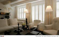 Jasno Shutters Woonkamer - Jasno Shutters raambekleding & lamellen - foto's & verkoopadressen op Liever interieur