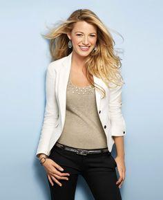 blake lively fashion   Blake Lively Casual Style