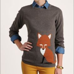 BUNDLED Sugarhill Boutique Foxy Sweater Already a press favourite the Foxy sweater adds a playful feel to your wardrobe. The exclusive 'wrap around' fox intarsia looks great paired with shorts and knitted tights, layered over skater dresses or just thrown on with your favourite jeans and flats or boots.                              Womens soft handle lightweight jumper  Crew neck with ribbed neckline Ribbed cuffs and hem Large jacquard Fox design Hand wash only Material: 60% cotton, 40%…