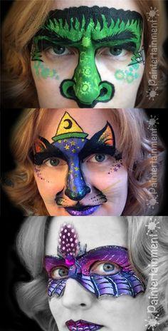 halloween face paint www.Paintertainment.com