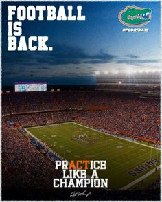 Let's go Gators!  Can't have anyone telling us that this year we'll be 3rd in the East BEHIND Carolina.... no way, no how ~ can't let it happen.