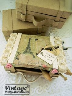 Servet 044 brocante rozen pastels 33cm