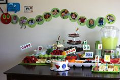 Very Hungry Caterpillar Birthday Party