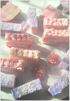 Pretty soap https://www.facebook.com/BaldChickSoaps