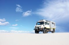 Modified Unimog Camper by Alucab, South Africa