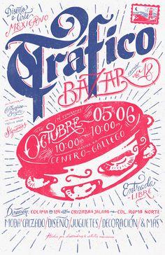 Trafico Bazar No. 18 on Behance