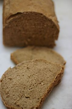 Pan de centeno en panificadora