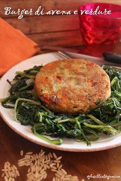 fusillialtegamino: Burger di avena e verdure