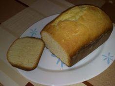 Pastel de limón (panificadora moulinex bread & home baguette), Receta Petitchef Bread Machine Recipes, Bread Recipes, Baguette Recipe, Types Of Bread, Pan Dulce, My Recipes, Cornbread, Donuts, Banana Bread