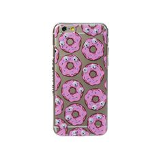 iPhone 6 Donut Case ($30) ❤ liked on Polyvore featuring accessories, tech accessories, cases, phone cases, phones, tech, iphone cases, apple iphone cases and iphone cover case