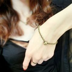 $3.97 Graceful Star Embellished Chain Bracelet For Women