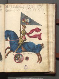 Mond as a Knight - From Book of War (Kriegsbuch)