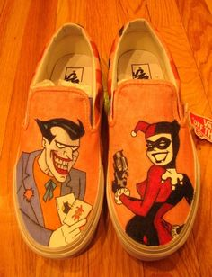 50 Unique And Wonderfully Geeky Hand-PaintedShoes