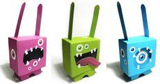 rabbit paper toys