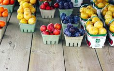 at the farm stand
