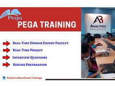 Pega Training!? Analytics Benchmark Offering Both Online And Classroom Training With Real Time Project and Placement Assistance  Website: www.abtrainings.com Quick Enroll: https://tinyurl.com/yav6audv  #Pega #OnlineTraining #OnlineDemo #Hyderabad #Institute